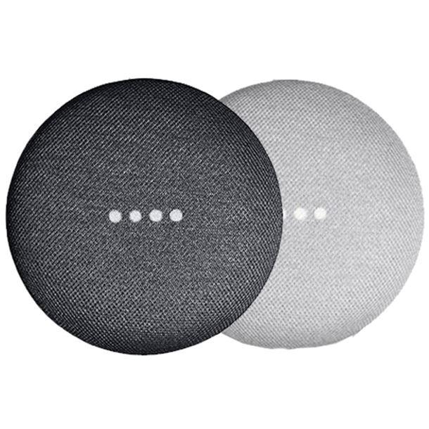Google Home Mini Smart Speaker - Chalk / Charcoal - Refurbished FFP - £15.99 delivered at MyMemory