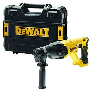 Dewalt dch133nt-xj – Hammer electroneumático Brushless XR 18 V SDS-Plus 2,6j 3 Modes Without Charger/Battery with Case £119.99 @ Amazon