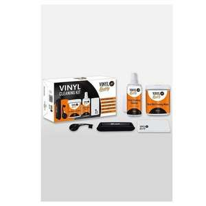 Vinyl Buddy 12 Inch Vinyl Record Cleaning Kit With Brush, Cloth, Wet Wipes & Cleaning Solution £10.99 delivered @ Juno