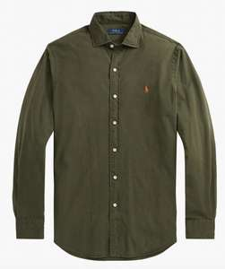 Polo Ralph Lauren Slim Fit Chino Shirt, Armadillo - £39 Delivered @ John Lewis & Partners
