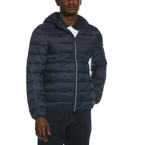 Lightweight Hooded Puffer Jacket in Dark Sapphire, Now £39.60 Delivered with Extra 10% off Code at Original Penguin