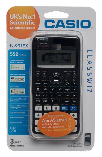 CASIO FX-991EX Scientific Calculator £21.99 delivered @ WHSmith