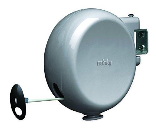 Minky Retractable Reel Washing Line, Grey, 15 m - £7.99 Prime (+£4.49 Non Prime) @ Amazon