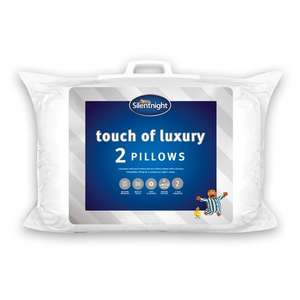 75% off Various Silentnight Products (Min Spend / Delivery Fee Applies) e.g Silentnight Luxury Pillow Pair £6 / Teddy Pillow £3.50 @ Tesco