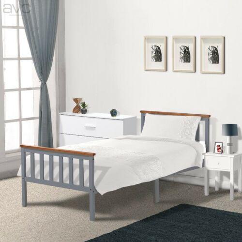 Single Pine Bed Frame 3ft Wooden Shaker Style (4 Colour options) - £54.95 Delivered @ eBay/avc online