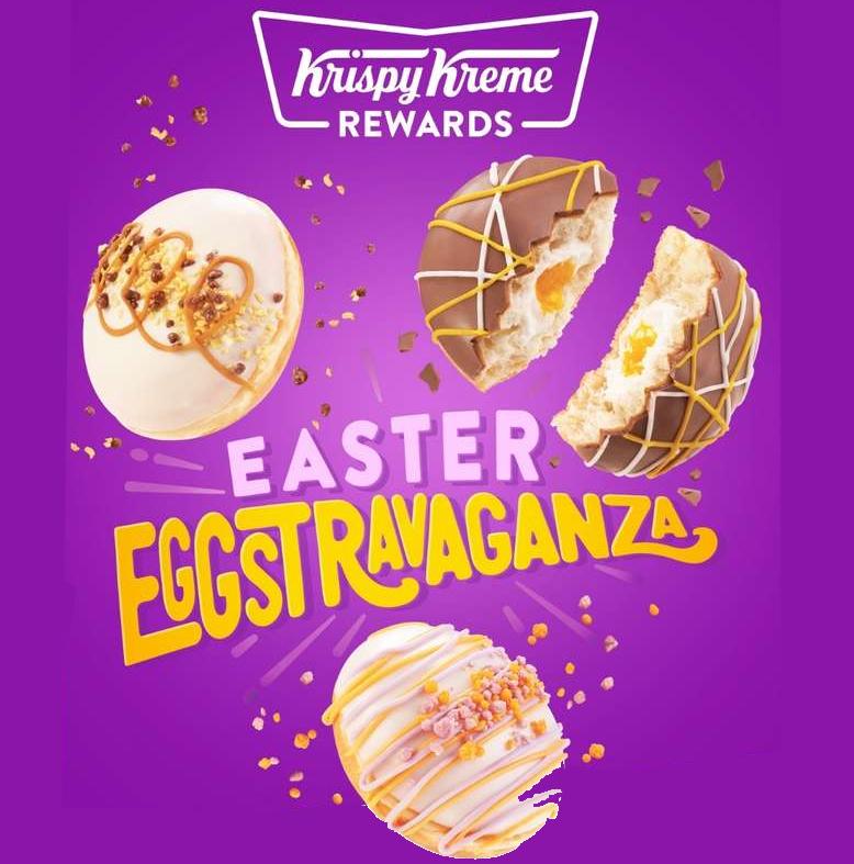 BOGOF Krispy Kreme Easter Donuts with voucher on the 23rd of March £2.25 @ Kripsy Kreme Store