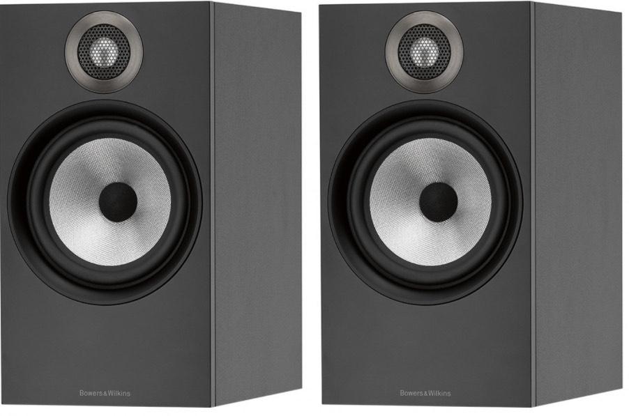 Bowers & Wilkins 606 Standmount Speakers - Matte Black - open box 5 year warranty £339 @ Peter Tyson