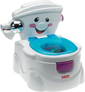 Fisher-Price P4324 My Potty Friend, Kids Toilet Training Seat with Sounds £29.50 at Amazon
