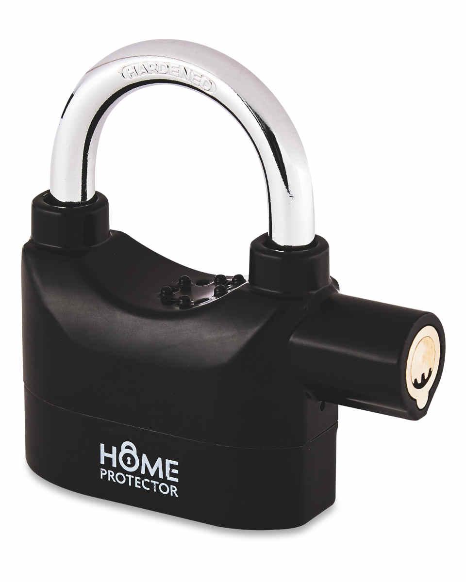 Home Protector Alarm Padlock £4.99 + £2.95 delivery at Aldi
