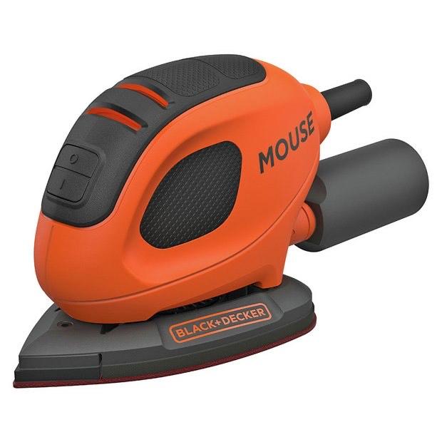 BLACK+DECKER 55 W Detail Mouse Electric Sander with 6 Sanding Sheets, BEW230-GB £20 @ Amazon