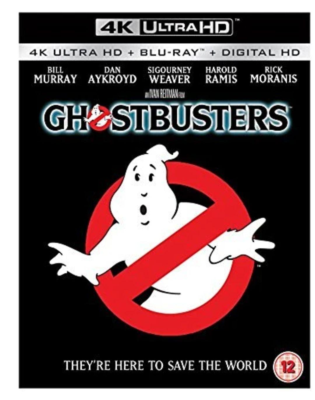 Ghostbusters 4K UHD Blu-Ray £9.79 @ Deff