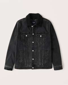 Abercrombie & Fitch - Sherpa Denim Jacket Mens £33 + £5 delivery (Free Shipping over £75)
