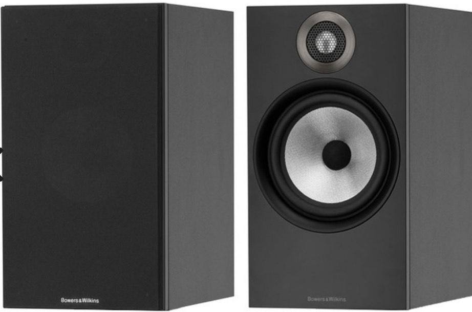 Bowers & Wilkins 607 Standmount Speakers - Matte Black - Ex Display 6 year warranty £229 @ Peter Tyson
