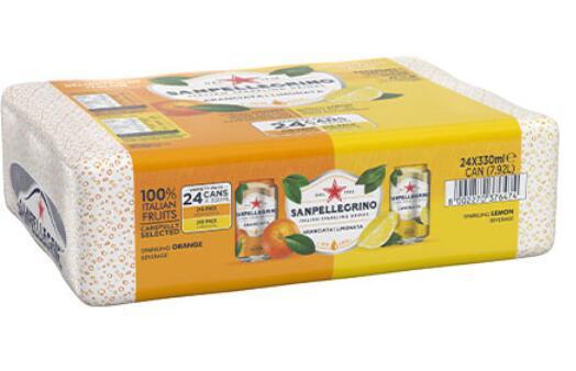 San Pellegrino Blood Orange & Lemon 24 x 330ml - £8.98 @ Costco