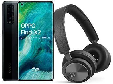 OPPO Find X2 5G 12GB / 256GB Smartphone (120HZ / Snapdragon 865) + Free Bang & Olufsen H8i Headphones - £526.36 (UK Mainland) @ Amazon Spain