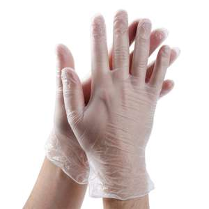 100 Pieces Disposable Gloves PVC Gloves Protective - Small - Used Like New £2.62 prime / £7.11 nonPrime Amazon Warehouse
