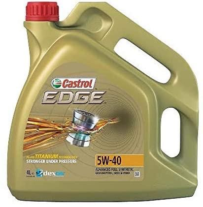 Castrol 1535F3 Edge 5W-40 Fully Synthetic Engine Oil, 4ltr - £25.25 @ Amazon