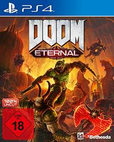 Doom Eternal - (PS4) USK18 (German) - £9.68 Prime / +2.99 Non Prime (UK Mainland) @ Amazon EU via Amazon