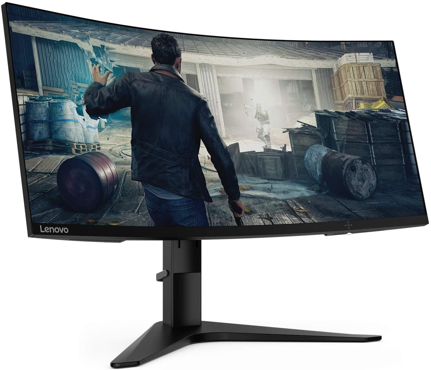 "Lenovo G34w-10 34"" Ultra Wide QHD Curved Monitor (3440x1440, QHD, 144Hz, Anti-glare, 4ms, AMD FreeSync) - £363.41 delivered @ Amazon Germany"