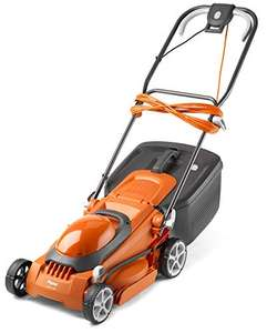 Flymo EasiStore 380R Electric Rotary Lawn Mower - 38 cm Cutting Width, 45 Litre Grass Box £49.63 Used acceptable @ Amazon Warehouse