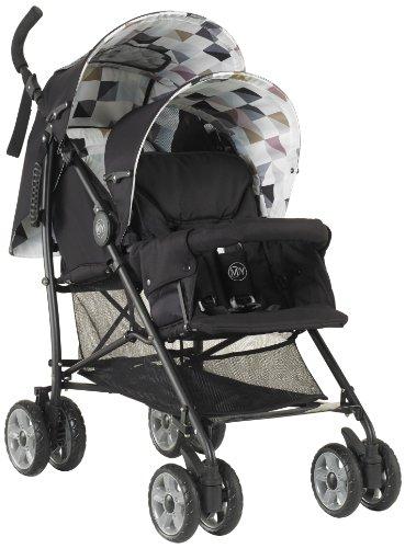 Mychild Sienta Duo Tandem Twin Pushchair Geo £49.99 @ AMAZON
