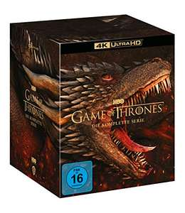 Game Of Thrones: Seasons 1-8 4K Ultra HD [2019] [Blu-ray] - £115.30 (UK Mainland only) @ Amazon Germany