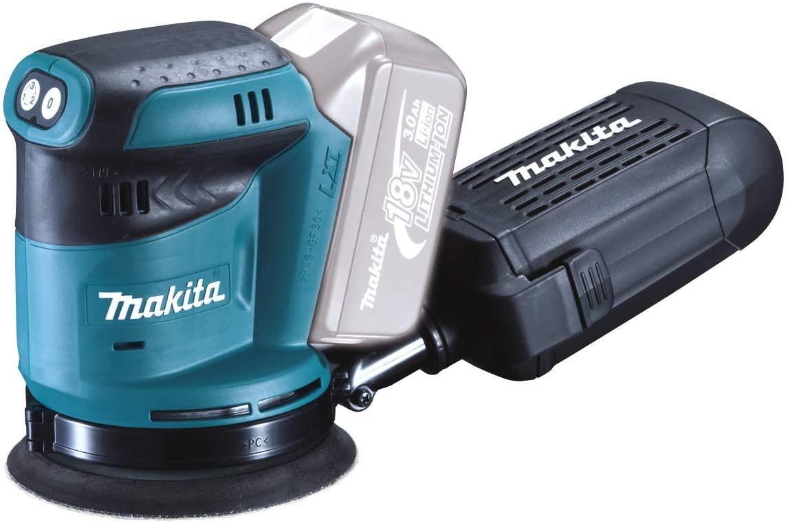 Makita DBO180Z Cordless Body Only Cordless 18 V Li-ion Random Orbit Sander, 125 mm £77.90 (UK Mainland) Sold by Amazon EU @ Amazon