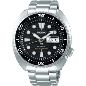 Seiko King Turtle Watch SRPE03K1 £400.61 & SRPE07K1 £378.30 with code at Watcho