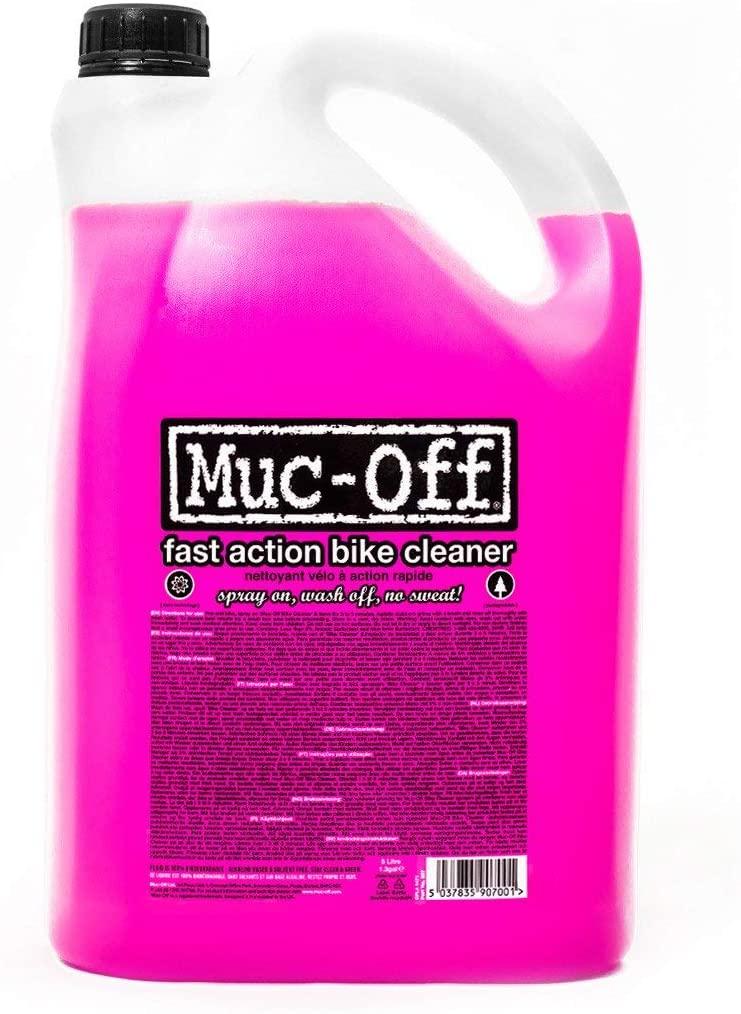 Muc-Off 907US Nano-Tech Bike Cleaner, 5 Litre - £12.73 (+£4.49 Non Prime) @ Amazon