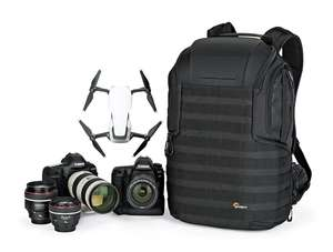 """Lowepro ProTactic 450 AW II Black Pro Modular Backpack with All Weather Cover for Laptop Up to 15"""" for £129.99 Amazon"""