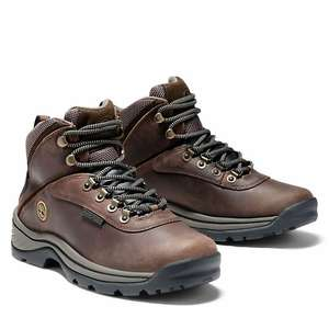 Timberland white ledge hiker walking boots women brown £49.50 with code Delivered at Timberland Shop