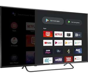 """JVC LT-50CA890 Android TV 50"""" Smart 4K Ultra HD HDR LED TV with Google Assistant £319 @ Currys PC World"""