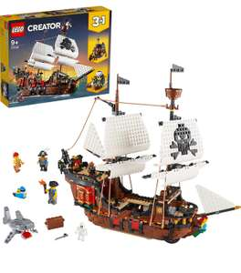 LEGO Creator 3in1 Pirate Ship Toy Set 31109 £57.49 delivered at Hamleys