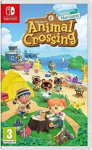 Animal Crossing: New Horizons (Nintendo Switch) £28.95 (+£27.5 with fee free card) Delivered (UK Mainland) @ Amazon Spain