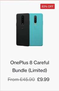 ONEPLUS 8 official Twin pack phone cases £9.99 + £4.99 delivery at OnePlus