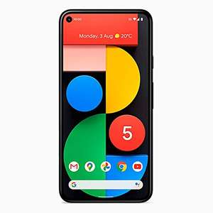 Google Pixel 5 Android Mobile Phone- 128GB Sorta Sage, SIM Free, Used Like New - £407.66 @ Amazon Warehouse