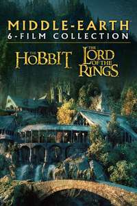 The Hobbit and Lord of the Rings 4K Theatrical & Extended Versions on sale from £14.99 (Each Theatrical Trilogy) @ iTunes Store
