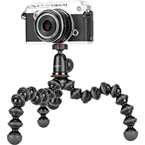 JOBY JB01503-BWW GorillaPod 1K Kit, Flexible Compact Camera Tripod with BallHead £26.99 at Amazon