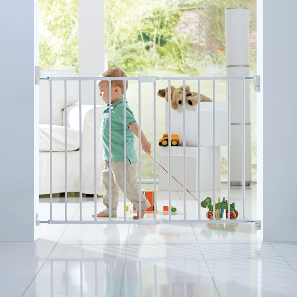 Lindam wall fix baby gate - down to £6.98 (+£4.49 Non Prime) @ Amazon