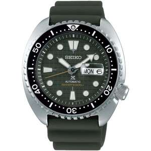 Seiko King Turtle SRPE05K1 & SRPE07K1 Watch £395 With Code at The Watch Hut