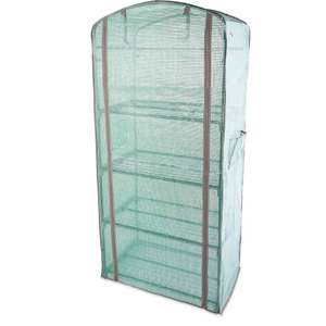 Gardenline 4-Tier Grow House with Weatherproof PE cover + 3 Year Warranty £19.99 + £2.95 delivery @ Aldi