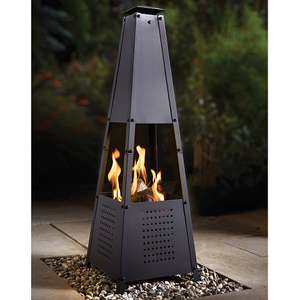 Contemporary Chimenea £29.99 delivered using code @ Coopers of Stortford