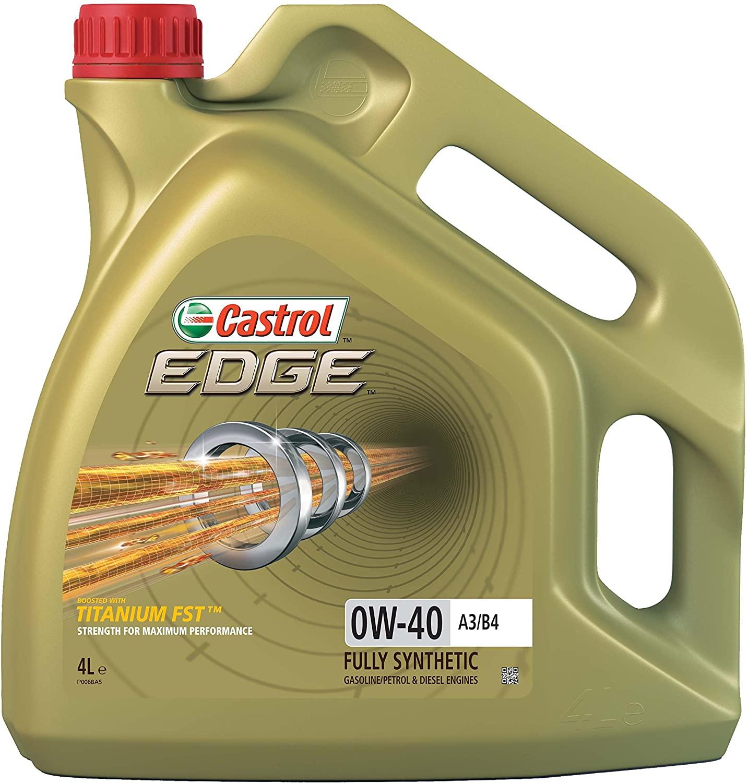 Castrol 15338F EDGE 0W-40 A3/B4 Engine Oil 4l - £32.76 @ Amazon