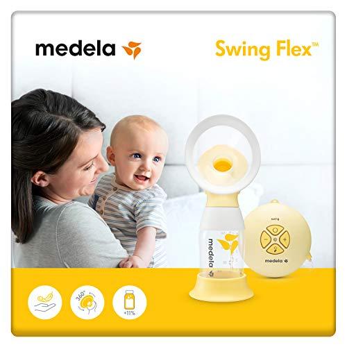 Medela Swing Flex Electric Breast Pump, Portable Single Silicone Pump £71.99 @ Amazon