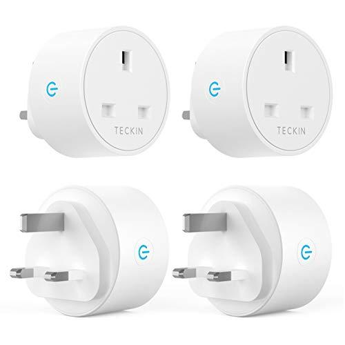 """Teckin Smart Sockets Plugs (4 Pack) £20.57 """"Like New"""" @ Amazon Warehouse"""