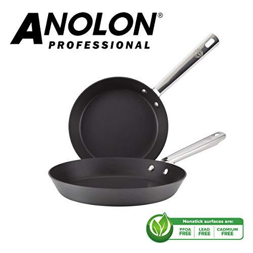 Anolon Professional Frying Pan Twin Pack (20/28cm) - £36.99 @ Amazon