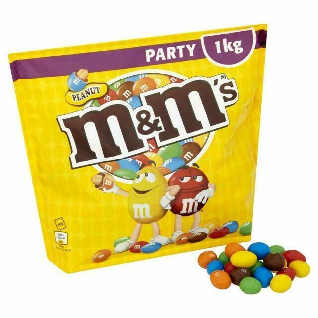 M&m 1kg Peanut Party Pouch £3.75 at McColls (Northampton)