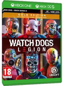 Xbox Watch Dogs Legion Gold edition £37.46 at MMOGA
