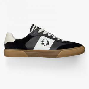 Fred Perry Trainers Clay black £37.50 @ Fred Perry