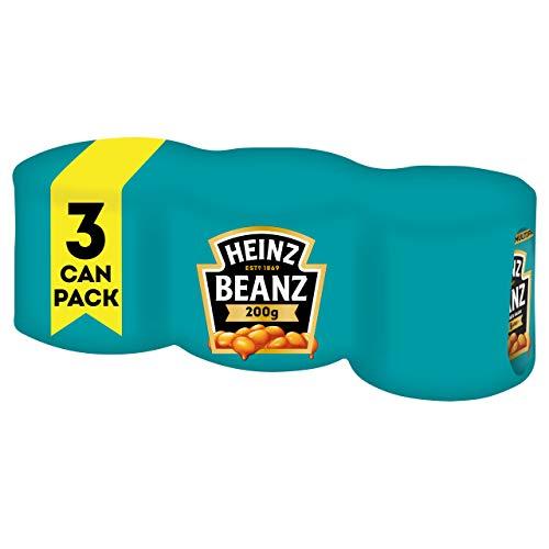 Heinz Baked Beanz in Tomato Sauce, 3 x 200 g - £1.25 Prime/+£4.49 Non Prime @ Amazon